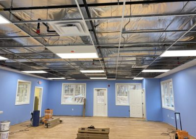 Educational Play Center - Manchester, CT - Drywall Work & Suspended Ceiling